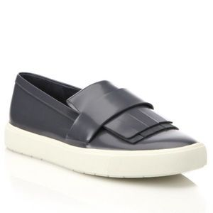 Vince Coventry Kiltie Patent Leather Slip-Ons
